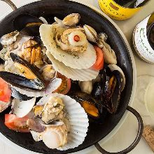 Other shellfish dishes