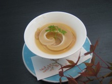 Chawanmushi (steamed egg custard)