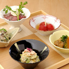 Assorted 5 Kyoto-style home recipes