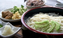 Chilled udon