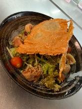 Seared beef carpaccio