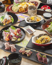5,400 JPY Course (10 Items)