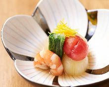 Otoshi (an appetizer) of the day