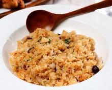 Cod roe fried rice