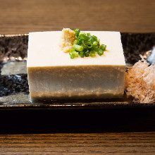 Chilled Okinawan tofu