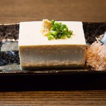 Chilled Okinawan tofu
