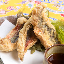 Fried banana fish