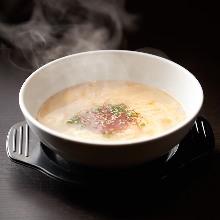 Egg soup