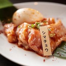 Stir-fried spicy offal