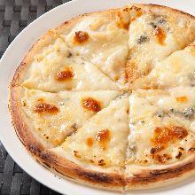 Quattro formaggi with honey