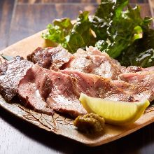 Charcoal grilled pork blade shoulder
