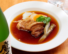 Simmered Berkshire pork belly