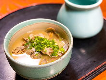 Manila clams miso soup