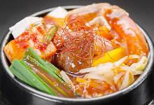 Seafood jjigae
