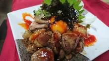 Jidori chicken tartare