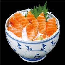Salmon rice bowl