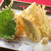 Assorted tempura, 5 kinds