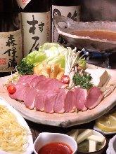 Duck shabu-shabu