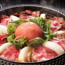 『トマトすき焼き』