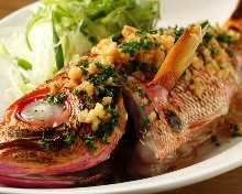 Grilled fish