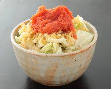 Salted cod roe monja