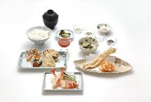 Assorted tempura, 10 kinds