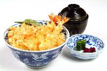 Tempura rice bowl