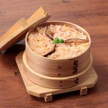 Kaisen Wappa Meshi(seafood cooked in a thin wooden container)