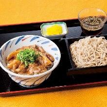 スタ飯とざる蕎麦