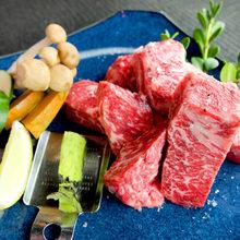 リブロース焼肉(野菜付)