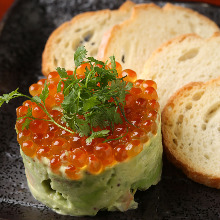 Shrimp and avocado tartare