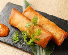 Deep-fried spring roll