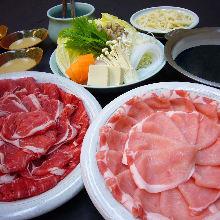 Shabu shabu all-you-can-eat