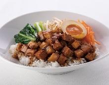 Minced pork rice