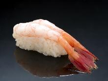 Ama ebi(northern shrimp)