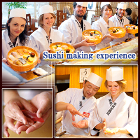 Sushi making experience [Standard course][Premium course]