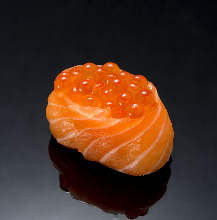 Salmon and roe