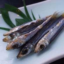 Seared sardine sheets