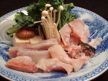 Pufferfish shabu-shabu