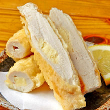 Chicken tenderloin tempura