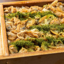 Manila clams rice
