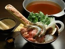 特製しょうゆちゃんこ鍋