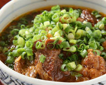 Simmered beef tendon