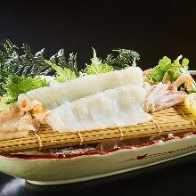 ズワイ蟹のすき焼き鍋