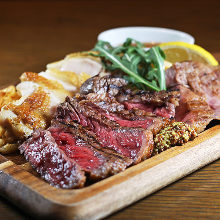 Assorted meat dishes, 3 kinds