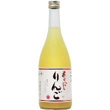Aragoshi Ringoshu (coarsely strained apple liqueur)