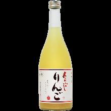 Aragoshi Ringoshu (coarsely strained apple liqueur)