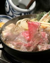 特選神戸牛すき焼き