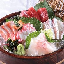 Daily assorted sashimi, 5 kinds