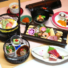 Wagohan (Japanese-style) set meal